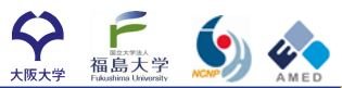 OSAKA、Hukushima、NCNP、AMED.JPG